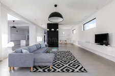minimalist-living-room-white-walls-patterned-carpet-wooden-floor-front-television-comfortable-...jpg